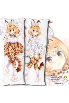 Kemono Friends Serval 1 Anime Dakimakura Japanese Hugging Body Pillow Cover