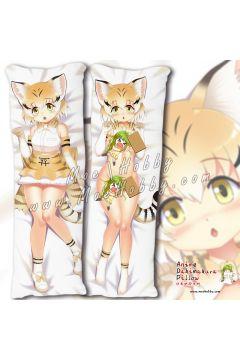 Kemono Friends Serval 2 Anime Dakimakura Japanese Hugging Body Pillow Cover
