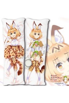 Kemono Friends Serval 5 Anime Dakimakura Japanese Hugging Body Pillow Cover
