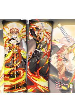 Kimetsu no Yaiba Kyojuro Rengoku Anime Dakimakura Japanese Hugging Body Pillow Cover 20538