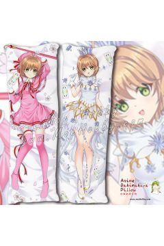 Kinomoto Sakura Cardcaptor Sakura Anime Dakimakura Japanese Hugging Body Pillow Cover Case 1982203-1