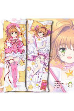 Kinomoto Sakura Cardcaptor Sakura Clear Card Anime Dakimakura Japanese Hugging Body Pillow Cover Case 19110301-1