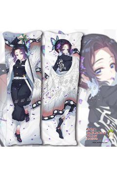 Kochou Shinobu Demon Slayer Anime Dakimakura Japanese Hugging Body Pillow Cover Case 19102401-1