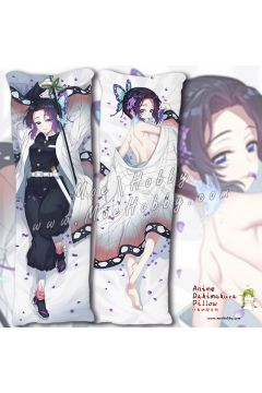 Kochou Shinobu Demon Slayer Anime Dakimakura Japanese Hugging Body Pillow Cover Case 19102401-2