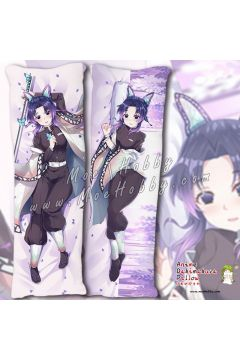 Kochou Shinobu Demon Slayer Anime Dakimakura Japanese Hugging Body Pillow Cover Case 19112801-1