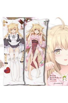 Konohana Kitan Yuzu 2 Anime Dakimakura Japanese Hugging Body Pillow Cover