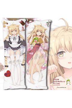 Konohana Kitan Yuzu 3 Anime Dakimakura Japanese Hugging Body Pillow Cover