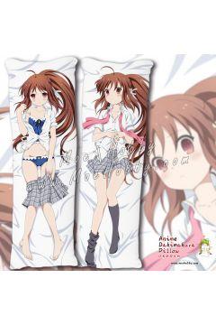 Little Busters! Natsume Rin 1 Anime Dakimakura Japanese Hugging Body Pillow Cover