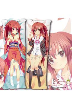 Little Busters! Natsume Rin Anime Dakimakura Japanese Hugging Body Pillow Cover Case