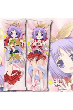 Lucky star Hiiragi Tsukasa Anime Dakimakura Japanese Hugging Body Pillow Cover