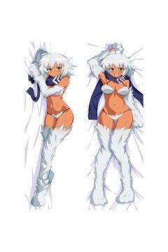 Monster Musume Yeti Anime Dakimakura Body Pillow Cover 21507