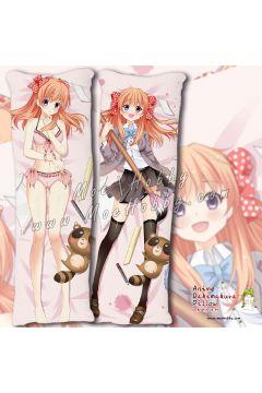 Monthly Girls' Nozaki Kun Sakura Chiyo Anime Dakimakura Japanese Hugging Body Pillow Cover Case 03