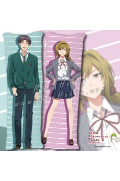 Monthly Girls Nozaki Kun Seo Yuzuki Anime Dakimakura Japanese Hugging Body Pillow Cover