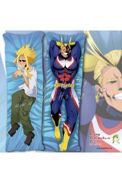 My Hero Academia Allmight Anime Dakimakura Japanese Hugging Body Pillow Cover