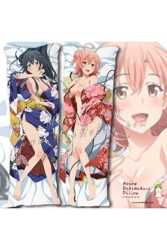 My Youth Romantic Comedy Is Wrong, As I Expected 4 Anime Dakimakura Japanese Hugging Body Pillow Cover