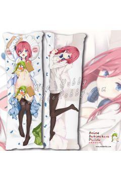 Nakano Miku The Quintessential Quintuplets Anime Dakimakura Japanese Hugging Body Pillow Cover Case 1942365-2