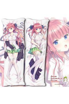Nakano Nino The Quintessential Quintuplets Anime Dakimakura Japanese Hugging Body Pillow Cover Case 1942370-1