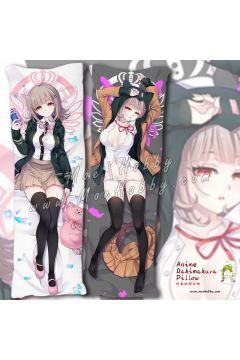Nanami Chiaki Danganronpa Trigger Happy Havoc3 Anime Dakimakura Japanese Hugging Body Pillow Cover Case 1942380-1