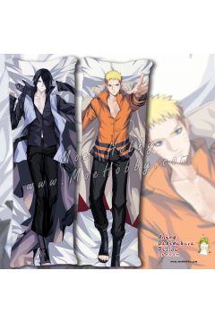 Naruto Uchiha Sasuke Uzumaki Naruto 2 Anime Dakimakura Japanese Hugging Body Pillow Cover