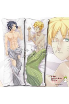 Naruto Uchiha Sasuke Uzumaki Naruto 3 Anime Dakimakura Japanese Hugging Body Pillow Cover