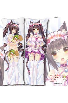 Nekopara Chocola Anime Dakimakura Japanese Hugging Body Pillow Cover