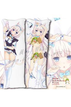 Nekopara Coconut Anime Dakimakura Japanese Hugging Body Pillow Cover Case 02