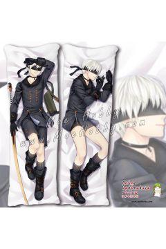 Nier Automata B Yorha No. 2 Type B 22 Anime Dakimakura Japanese Hugging Body Pillow Cover