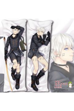 Nier Automata B Yorha No. 2 Type B 24 Anime Dakimakura Japanese Hugging Body Pillow Cover
