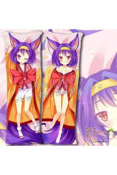 No Game No Life Hatsuse Izuna Anime Dakimakura Japanese Hugging Body Pillow Cover Case