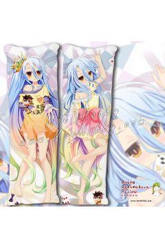 No Game No Life Shiro 10 Anime Dakimakura Japanese Hugging Body Pillow Cover