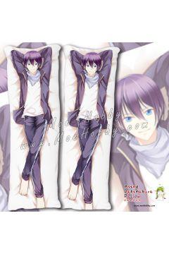 Noragami Yato Anime Dakimakura Japanese Hugging Body Pillow Cover Case 02