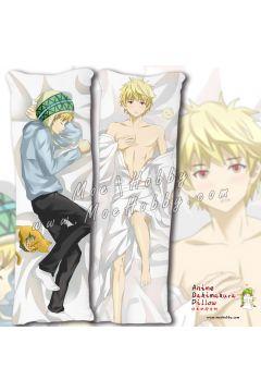 Noragami Yukine Anime Dakimakura Japanese Hugging Body Pillow Cover