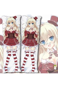 Noucome Chocola Anime Dakimakura Japanese Hugging Body Pillow Cover Case 02