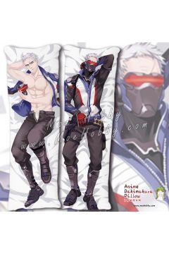 Overwatch 76 Soldier 76 2 Anime Dakimakura Japanese Hugging Body Pillow Cover
