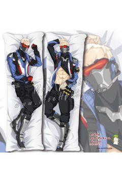 Overwatch 76 Soldier 76 3 Anime Dakimakura Japanese Hugging Body Pillow Cover