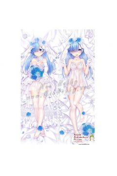 Re Life in a Different World from Zero Rem Anime Dakimakura Japanese Hugging Body Pillow Cover 009