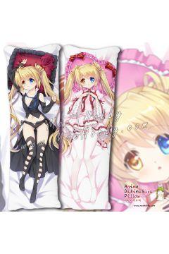 Rewrite Nakatsu Shizuru 5 Anime Dakimakura Japanese Hugging Body Pillow Cover