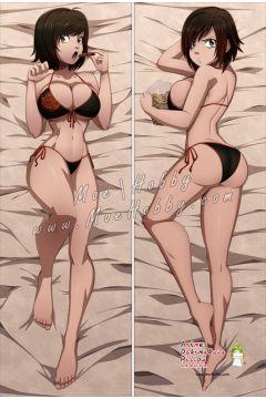 RWBY Ruby Rose Anime Dakimakura Japanese Hugging Body Pillow Cover