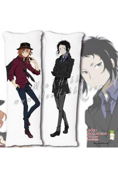 Ryunosuke Akutagawa Bungo Stray Dogs Anime Dakimakura Japanese Hugging Body Pillow Cover Case 19101401-1