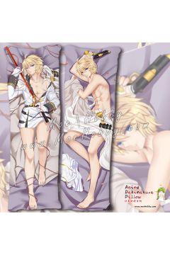 Seraph Of The End Mikaela Hyakuya Anime Dakimakura Japanese Hugging Body Pillow Cover Case 02