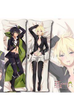 Seraph of The End Yuichiro Hyakuya 1 Anime Dakimakura Japanese Hugging Body Pillow Cover