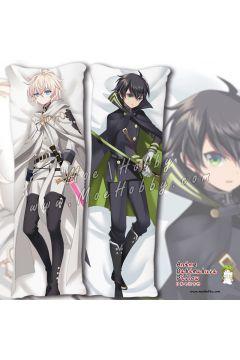 Seraph of The End Yuichiro Hyakuya 2 Anime Dakimakura Japanese Hugging Body Pillow Cover