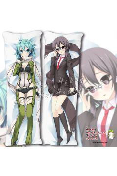 Sword Art Online Asada Shino 03 Anime Dakimakura Japanese Hugging Body Pillow Cover