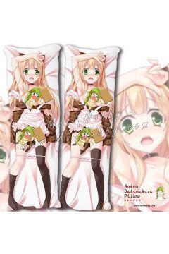 The Hentai Prince And The Stony Cat Q32. Azuki Azusa Anime Dakimakura Japanese Hugging Body Pillow Cover Case 02