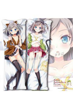 The Hentai Prince And The Stony Cat Tsutsukakushi Tsukiko 6 Anime Dakimakura Japanese Hugging Body Pillow Cover