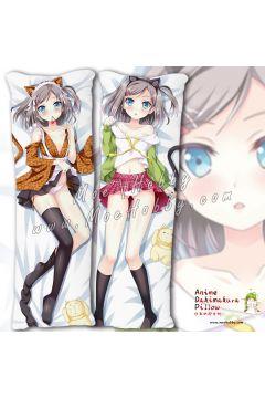 The Hentai Prince And The Stony Cat Tsutsukakushi Tsukiko 7 Anime Dakimakura Japanese Hugging Body Pillow Cover