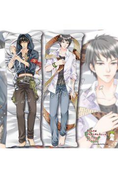 The Lost Tomb Xie Wu kylin Zhang Anime Dakimakura Japanese Hugging Body Pillow Cover
