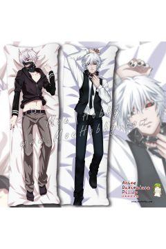 Tokyo Ghoul Kaneki Ken Anime Dakimakura Japanese Hugging Body Pillow Cover Case 08