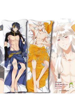 Touken Ranbu Mikazuki Munechika Kogitsunemaru Anime Dakimakura Japanese Hugging Body Pillow Cover