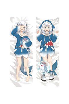 Virtual Youtuber Gawr Gura Anime Dakimakura Body Pillow Cover 21412